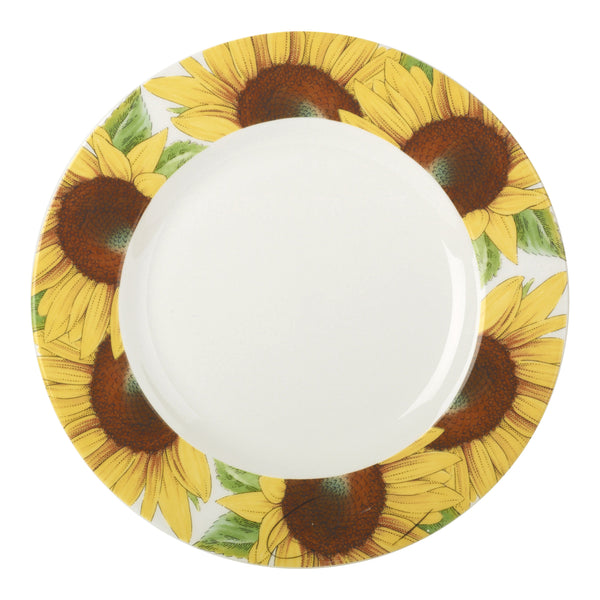 "Botanic Blooms Salad Plate 8.75"" Sunflower"