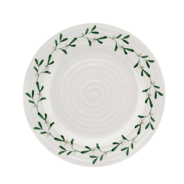 "Sophie Conran Mistletoe Salad Plate 8"", Set of 4"