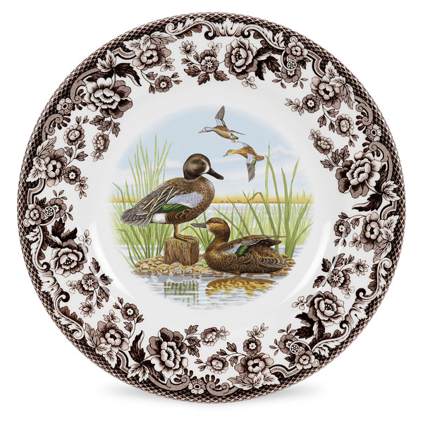 Dinner Plate-Blue Winged Teal 10.5""