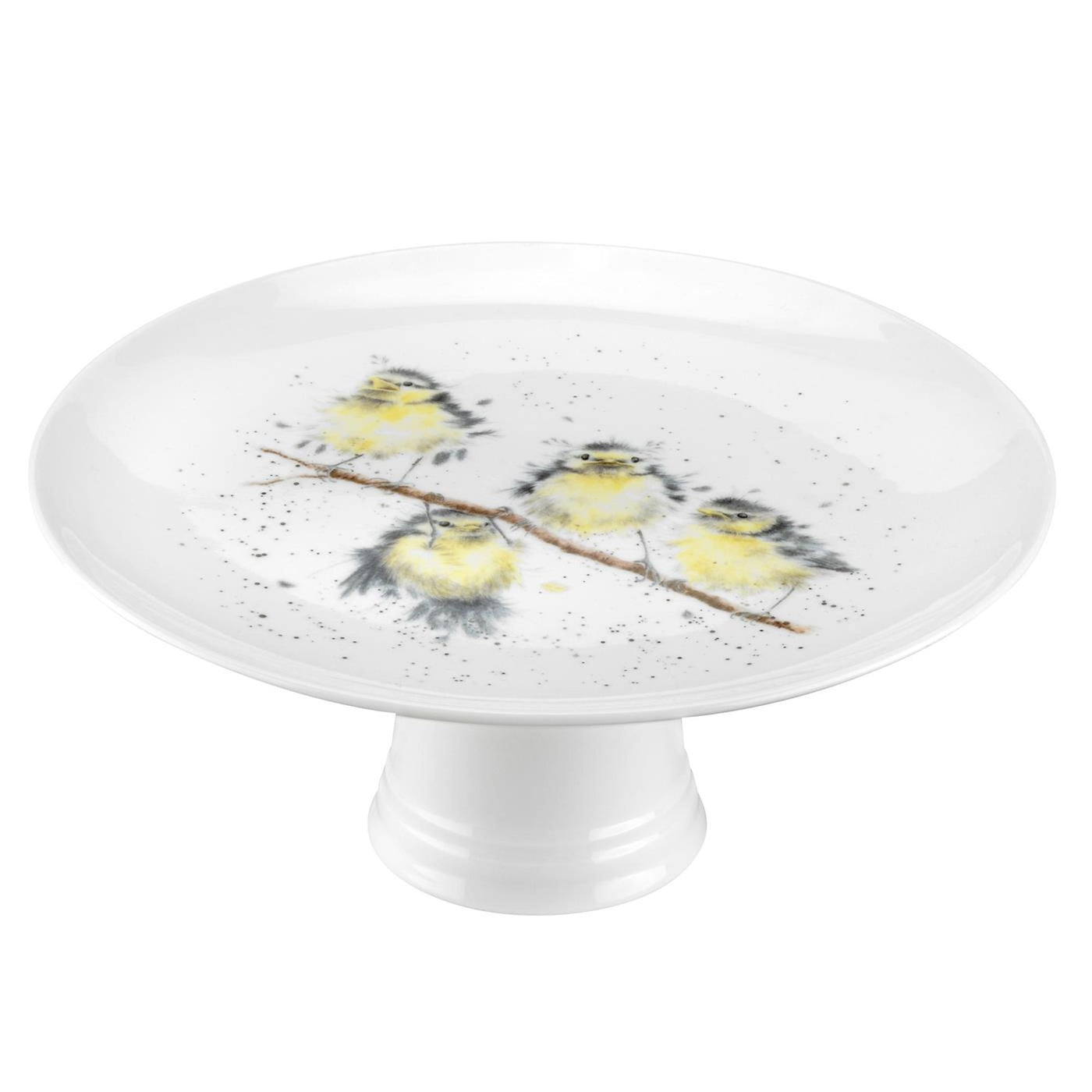 Footed Cake Stand (Birds)