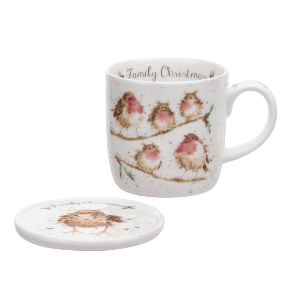 <i>Family Christmas</i> Mug & Coaster