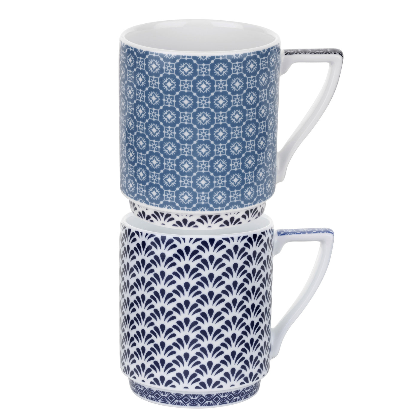 Balfour III & IV Stacking Mugs (Set of 2)