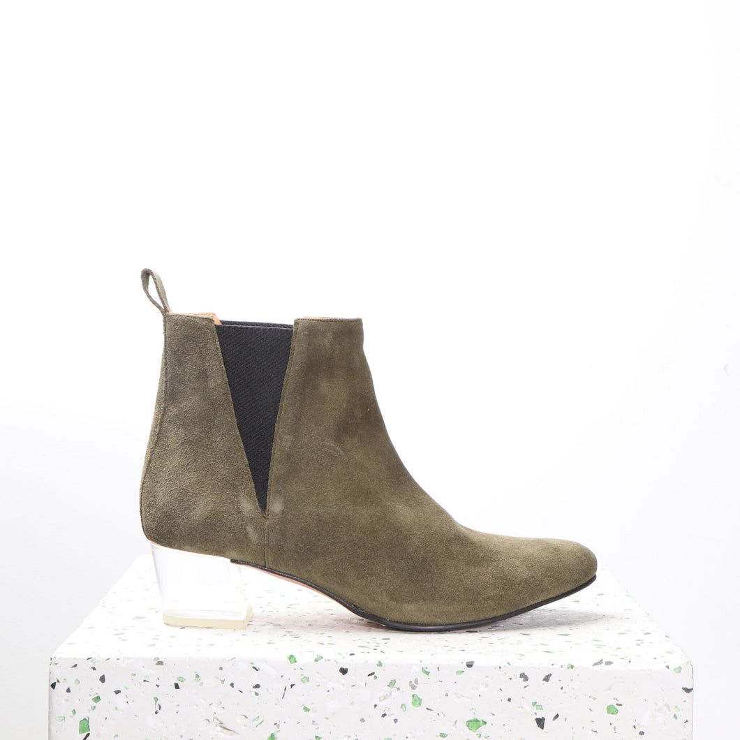 Ally Suede Olive