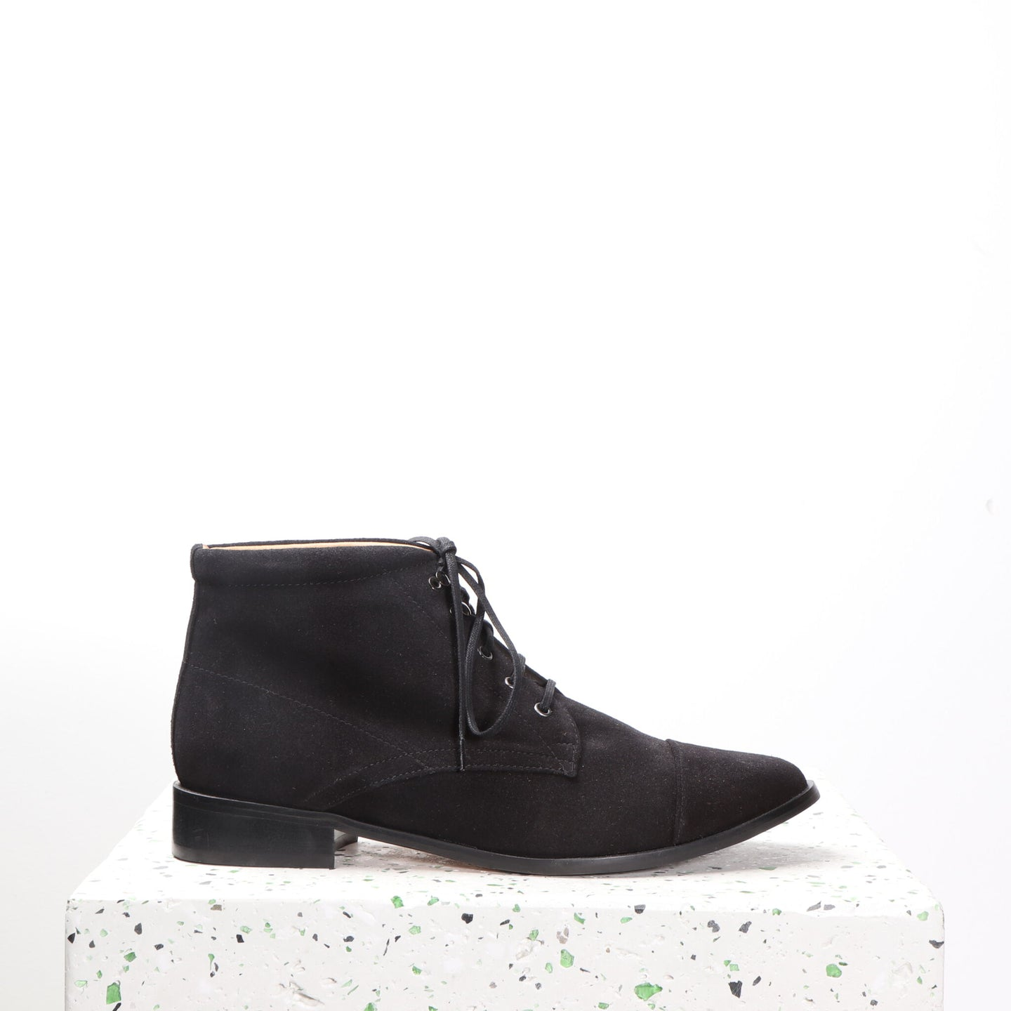 Ashley Suede Black - last pairs 36 & 37