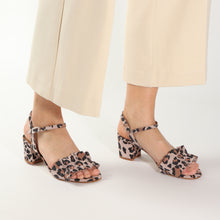 Load image into Gallery viewer, CLARISSE Suede Faux Leopard