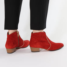 Load image into Gallery viewer, Dunn Suede Red