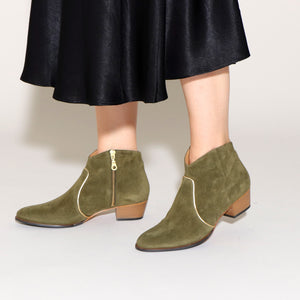 DUNN Suede Olive