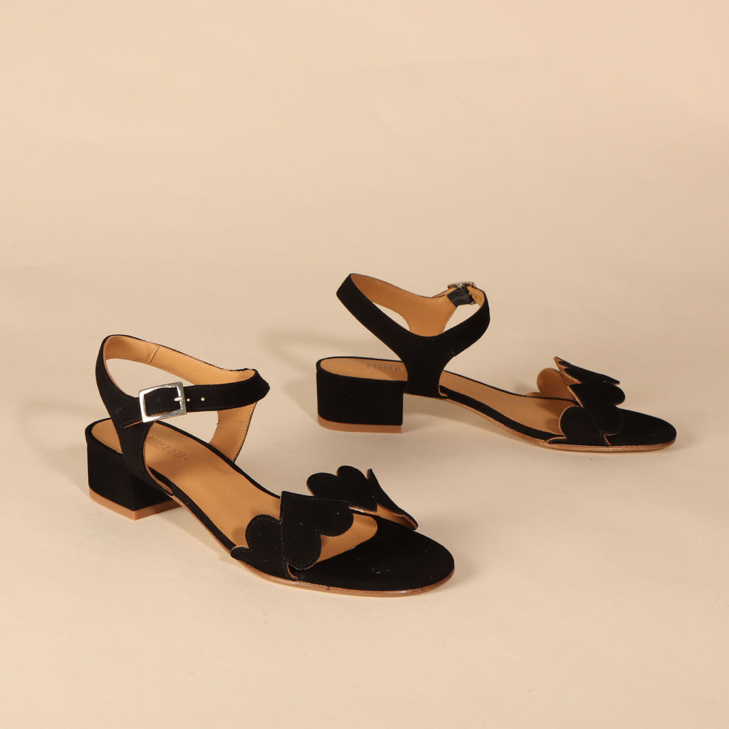 POPPY Suede Black - last pair 41
