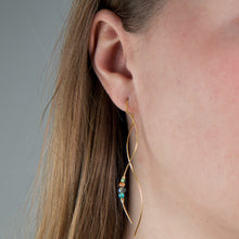 Load image into Gallery viewer, Nena Earring Blue