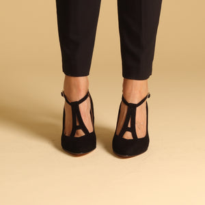 PARIS Suede Black - last pair 37