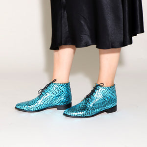 ASHLEY Croc Blue