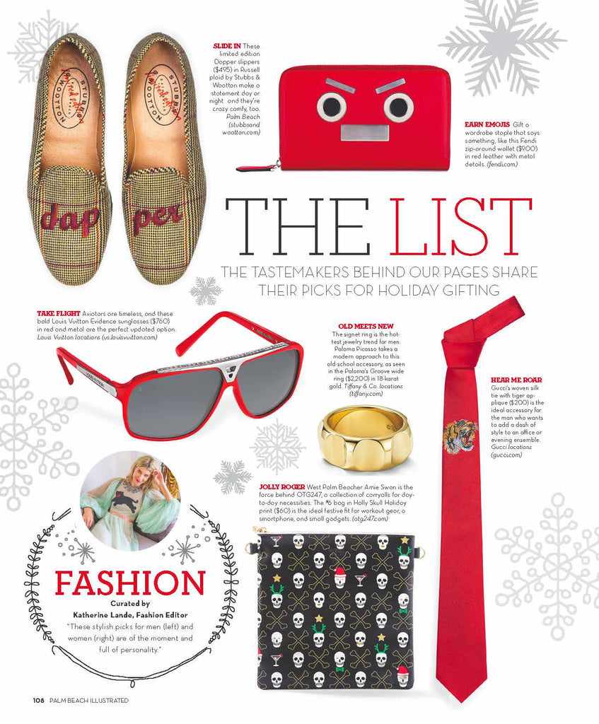PALM BEACH ILLUSTRATED Holiday Gift Guide
