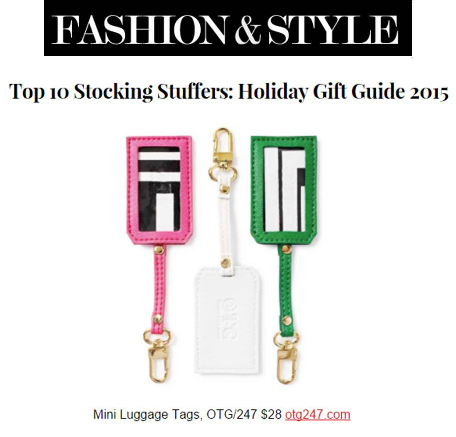 FASHION & STYLE Top 10 Socking Stuffers: Holiday Gift Guide 2015