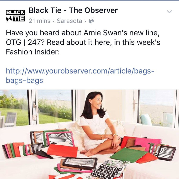 THE OBSERVER BLACK TIE Bags on Bags on Bags