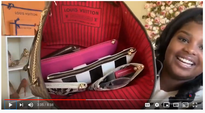 ERI LANE PROTECTS HER DESIGNER DREAM BAG WITH OTG|247