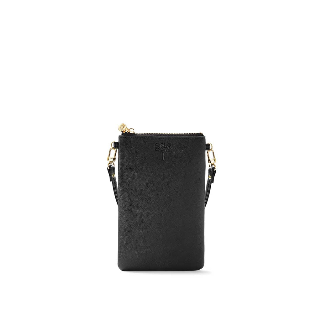 OTG|247 #1 Black Handbag With Straps