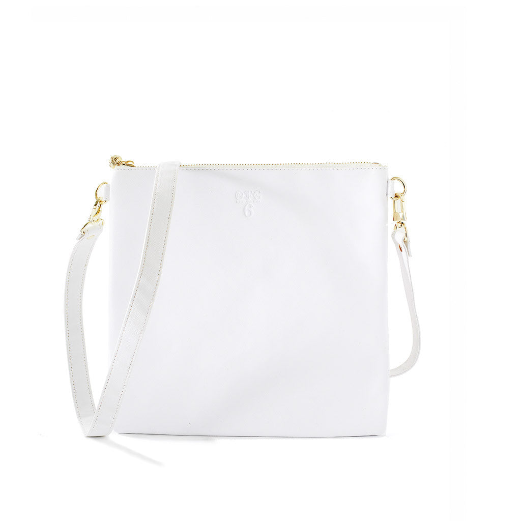 OTG|247 #6 White Handbag With Straps