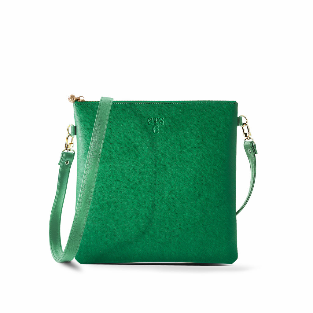 OTG|247 #6 Green Handbag With Straps