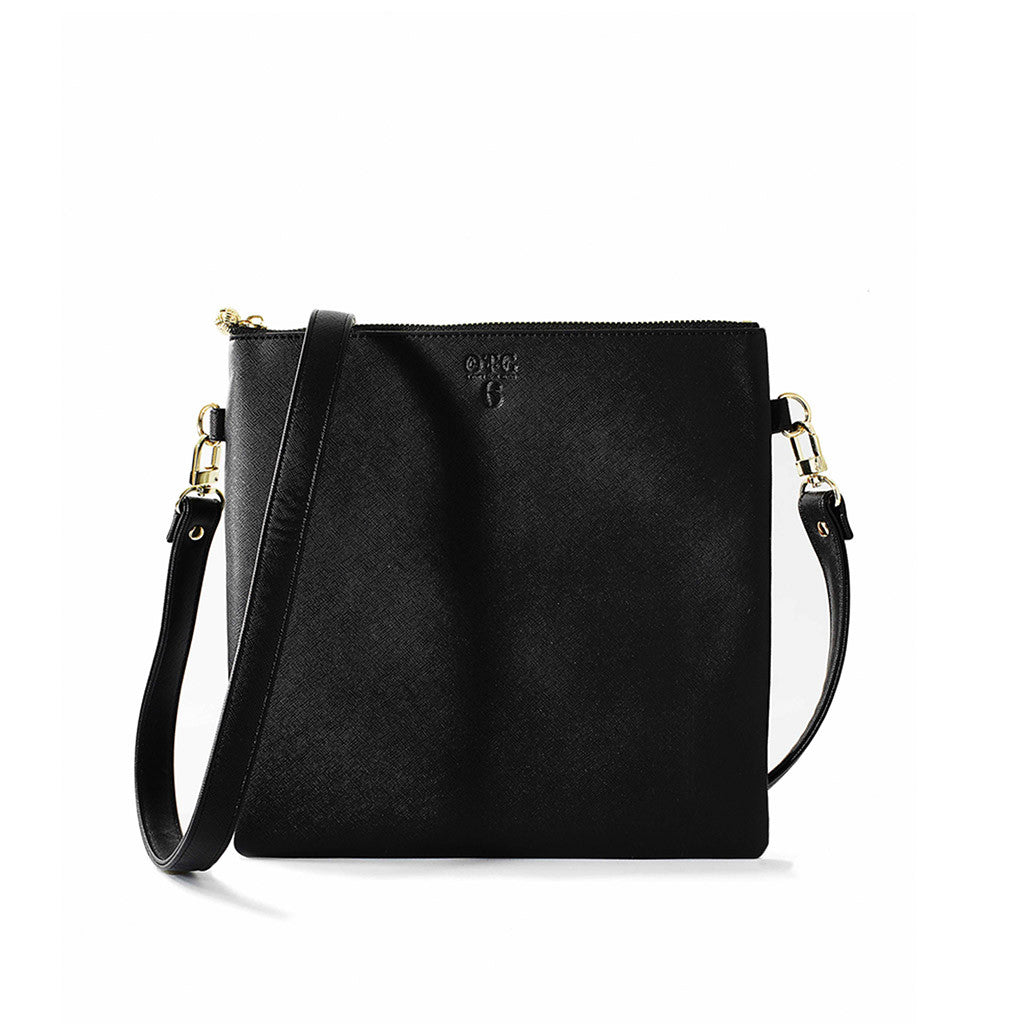OTG|247 #6 Black Handbag With Straps