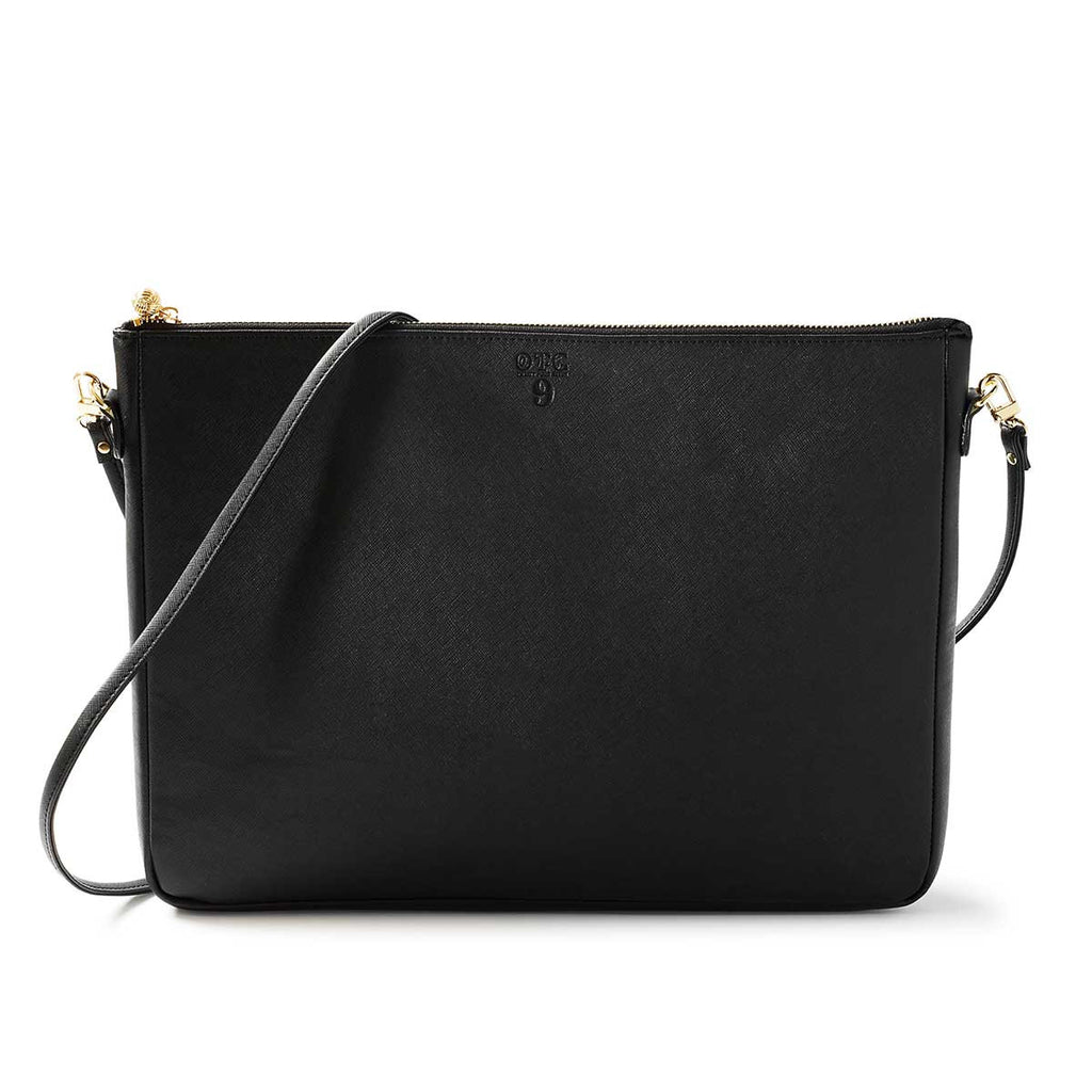 OTG|247 #9 Black Handbag With Straps