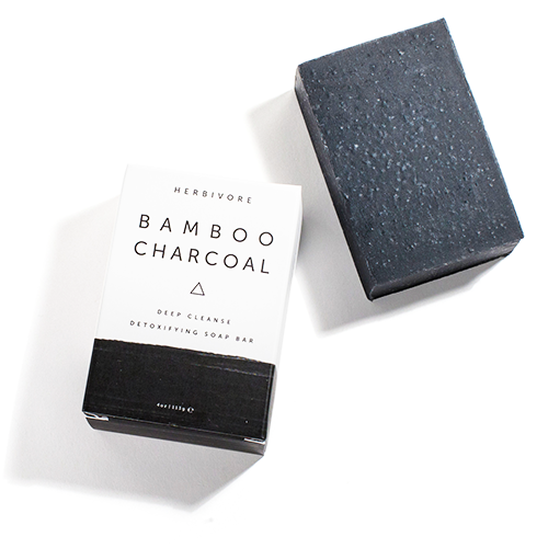 HERBIVORE BOTANICALS | Bamboo Charcoal Cleansing Bar
