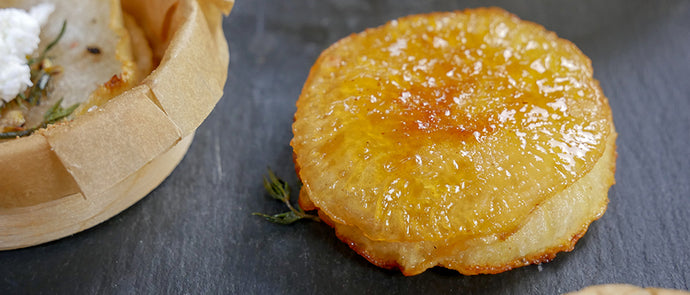 Caramelized Turnip Slices