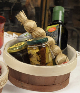 wooden serving basket from panibois
