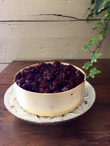 cranberry torte baked in panibois
