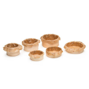 amuse-bouche mini hors d'oeuvre wood baking and service molds