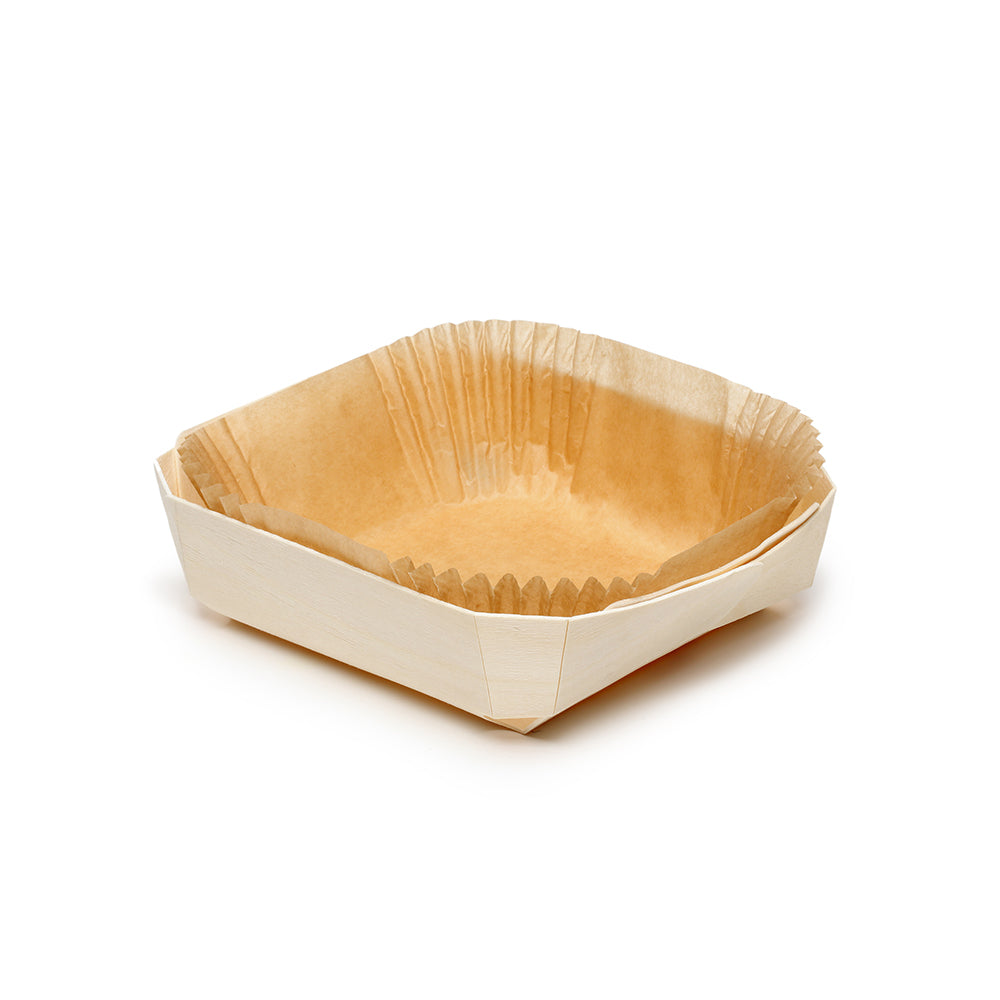 lady wooden baking tray