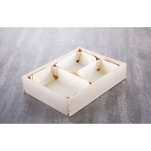 Medium Wooden Gift Crate - CHEVERNY