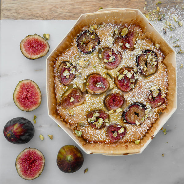 fig and pistachio clafoutis baked in octo 180 by panibois