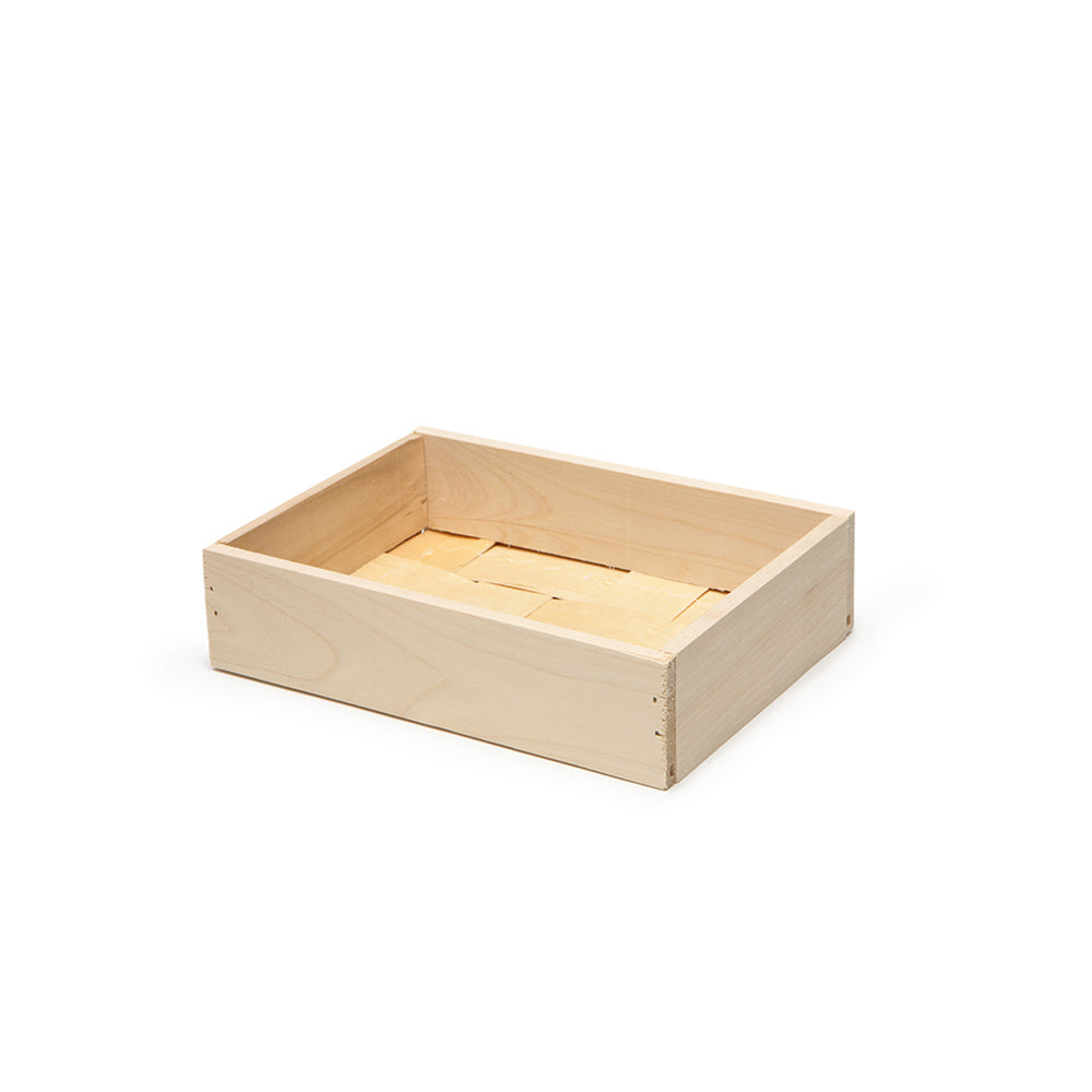 Small Wooden Gift Crate 42ct - CHAUMONT