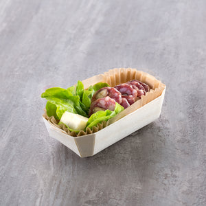 mini charcuterie dish by panibois