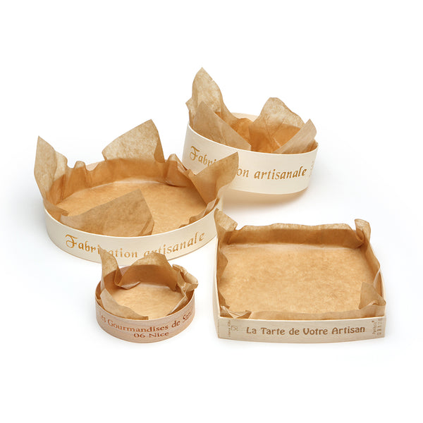Wooden Torte Rings (2'' high)
