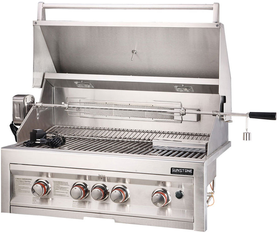 4 Burner Gas Grill with InfraRed