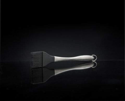 PRO Silicone Basting Brush with Stainless Steel Handle-BBQ STORE MALTA