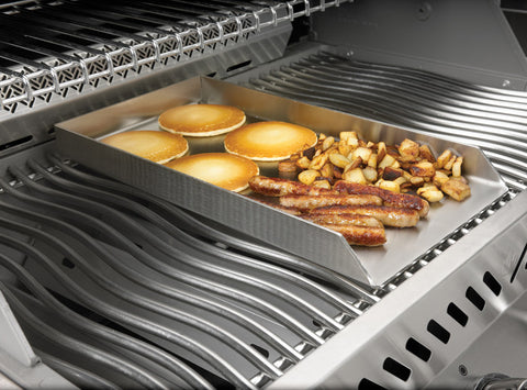 PRO Stainless Steel Griddle 450 / 600 / 500 / 750-BBQ STORE MALTA
