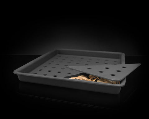 Cast Iron Charcoal and Smoker Tray for all Prestige (except 308) & Mirage-BBQ STORE MALTA