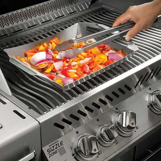 PRO STAINLESS STEEL TOPPER-Napoleon-BBQ STORE MALTA