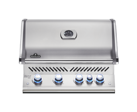Built In Prestige PRO 500 with Rear Infrared Burner-BBQ STORE MALTA