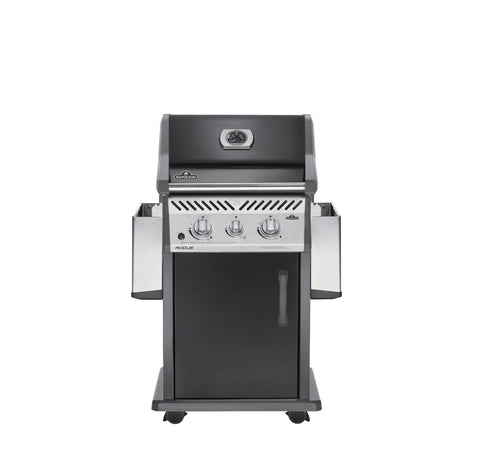 ROGUE® 365 IN BLACK WITH RANGE SIDE BURNER