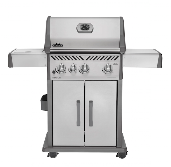 ROGUE® 425 WITH INFRARED SIDE BURNER-BBQ STORE MALTA
