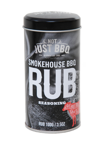 Smokehouse BBQ Rub 160g-Not Just BBQ-BBQ STORE MALTA