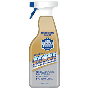 Bar Keepers Friend MORE Spray + Foam 25.4fl oz-Bar Keepers Friend-BBQ STORE MALTA