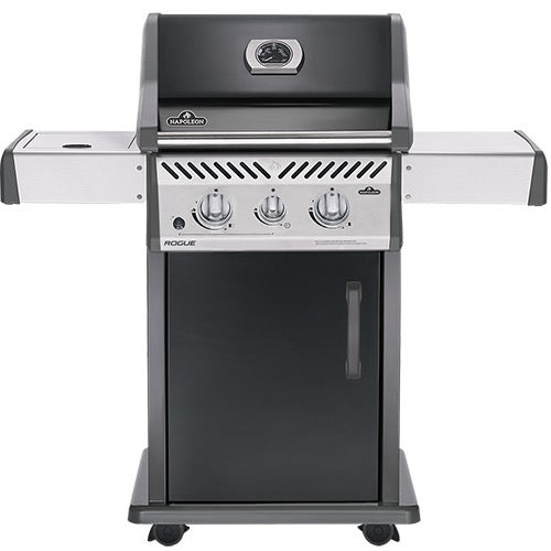 ROGUE® 365 IN BLACK WITH RANGE SIDE BURNER-BBQ STORE MALTA