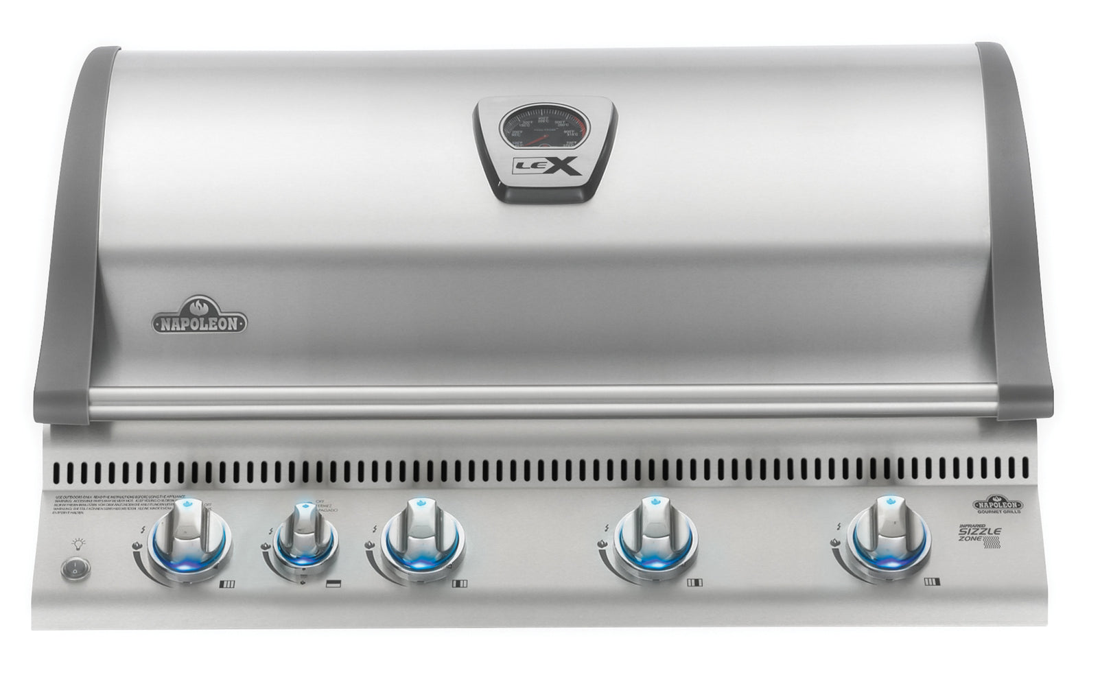 Built In LEX 605 with Infrared Bottom and Rear Burners-BBQ STORE MALTA