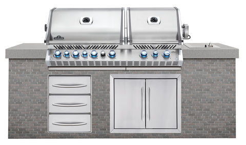 Built-In Prestige PRO™ 825 with Infrared Rear Burner-Napoleon-BBQ STORE MALTA