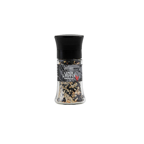 Lemon & Pepper Grinder 55g-Not Just BBQ-BBQ STORE MALTA