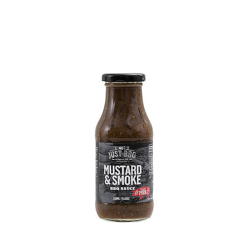 Mustard & Smoke BBQ Marinade 250ml-Not Just BBQ-BBQ STORE MALTA